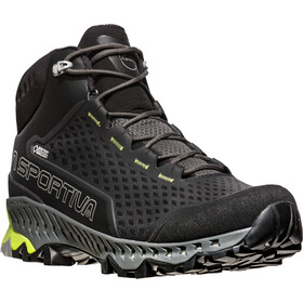 La Sportiva Stream GTX Chaussures Homme, carbon/apple green